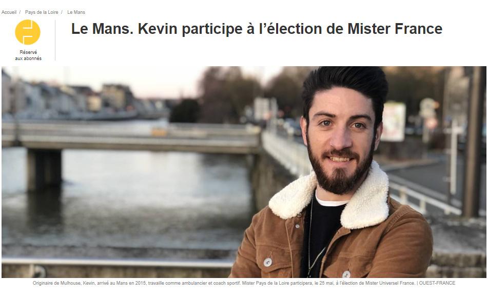 Mister France Pays de la Loire