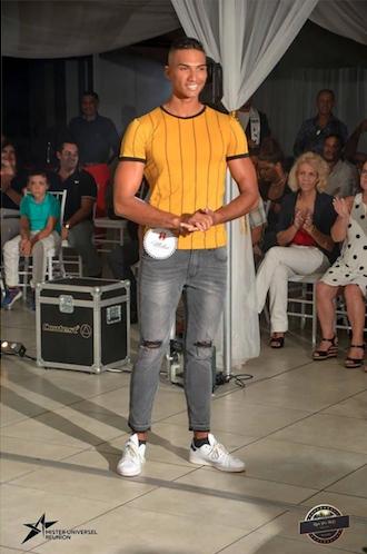 Emmanuel Desjardins, Mister Universel Réunion 2019