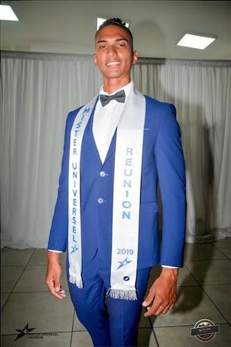 Emmanuel Desjardins Mister Universel Réunion 2019